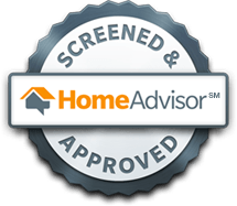 Screened & approved by Home Advisor Patriot Window Cleaning